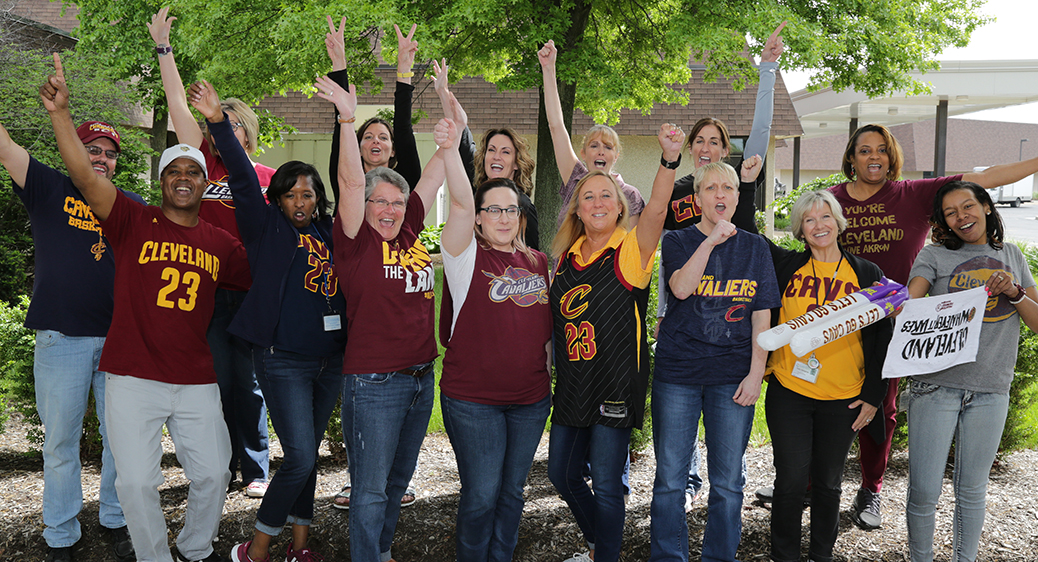 Staff Cavs photo. Cavaliers. Sports. Basketball.